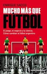 Libro Mucho Mas Que Futbol