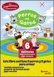 Papel PERROS VS GATOS LA JUGUETERIA MIS LIBROS PARA ARMAR (TROQUELADO)