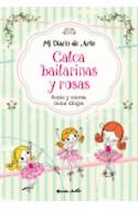 Papel CALCA BAILARINAS Y ROSAS COPIA Y COLOREA LINDOS DIBUJOS  (MI DIARIO DE ARTE) (RUSTICO)
