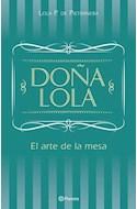 Papel DOÑA LOLA EL ARTE DE LA MESA (CARTONE)