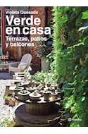Papel VERDE EN CASA TERRAZAS PATIOS Y BALCONES (ILUSTRADO) (RUSTICA)