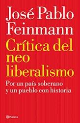 Libro Critica Del Neoliberalismo
