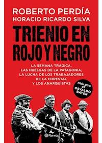 Papel Trienio En Rojo Y Negro