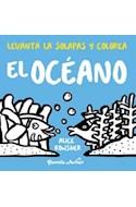 Papel OCEANO (LEVANTA LAS SOLAPAS Y COLOREA)