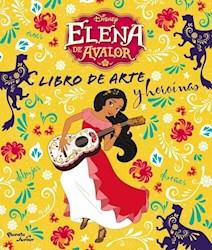 Libro Elena De Avalor  Libro De Arte Y Heroinas
