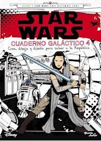 Papel Star Wars. Los Últimos Jedi. Cuaderno Galáctico