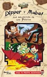 Papel Gravity Falls Dipper Y Mabel La Maldicion De Los Piratas