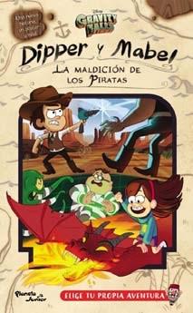 Papel Gravity Falls.  Dipper Y Mabel. La Maldición De Los Piratas (Con Póster)