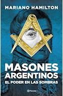 Papel MASONES ARGENTINOS EL PODER ENTRE LAS SOMBRAS (RUSTICA)