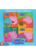 Papel PEPPA PIG HISTORIAS MARAVILLOSAS [4 LIBROS DE HISTORIAS] (ESTUCHE)