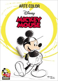 Papel Mickey Mouse. Arte Color
