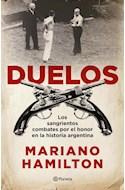 Papel DUELOS LOS SANGRIENTOS COMBATES POR EL HONOR EN LA HISTORIA ARGENTINA