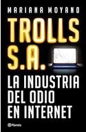 Papel TROLLS S A LA INDUSTRIA DEL ODIO EN INTERNET