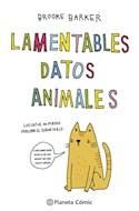 Papel LAMENTABLES DATOS ANIMALES (ILUSTRADO) (BOLSILLO)