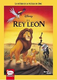 Papel El Rey León. La Historia De La Película En Cómic