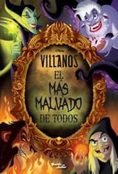 Libro Villanos  El Mas Malvado De Todos