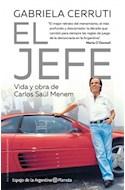 Papel JEFE VIDA Y OBRA DE CARLOS SAUL MENEM (COLECCION ESPEJO DE LA ARGENTINA)