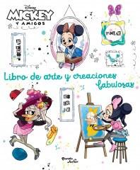 Papel Mickey Y Amigos - Minnie Libro De Arte Y Creaciones Fabulosas
