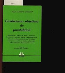 Libro Condiciones Objetivas De Punibilidad