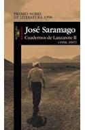 Papel CUADERNOS DE LANZAROTE II (BIBLIOTECA JOSE SARAMAGO)