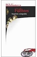 Papel INQUIETA COMPAÑIA (BIBLIOTECA CARLOS FUENTES)