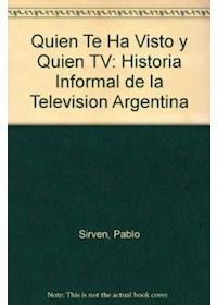 Papel Quien Te Ha Visto Y Quien Tv