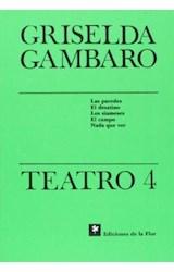 Papel TEATRO 4 GAMBARO GRISELDA