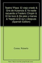 Papel TEATRO 3 COSSA ROBERTO