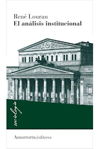 Papel El análisis institucional