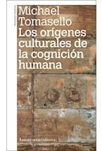 Papel LOS ORIGENES CULTURALES DE LA COGNICION HUMANA