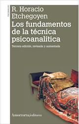 Papel LOS FUNDAMENTOS DE LA TECNICA PSICOANALITICA