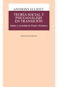 Papel Teoría social y psicoanálisis en transición