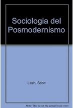 Papel SOCIOLOGIA DEL POSMODERNISMO