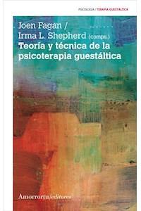 Papel Teoría y técnica de la psicoterapia guestáltica