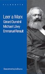 Libro Leer A Marx
