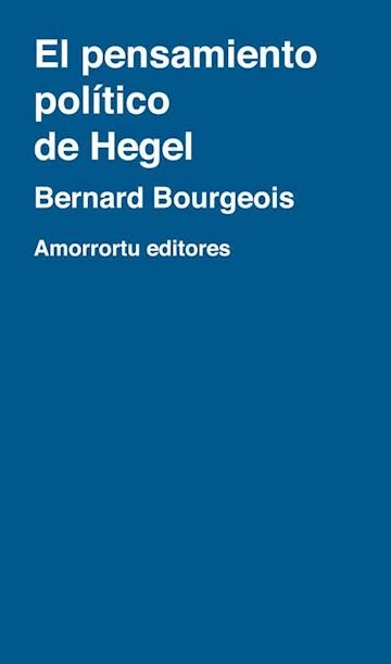 Papel El Pensamiento Politico De Hegel