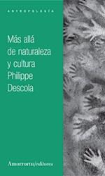 Libro Mas Alla De La Naturaleza Y La Cultura