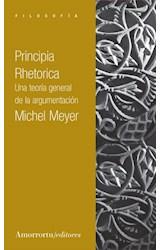 Papel PRINCIPIA RHETORICA (UNA TEORIA GENERAL DE LA ARGUMENTACION