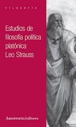 Libro Estudios De Filosofia Politica Platonica