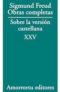 Papel OBRAS COMPLETAS SOBRE LA VERSION CASTELLANA