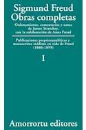 Papel OBRAS COMPLETAS 1 (1886-1899) PUBLICACIONES PREPSICOANA LITICAS Y MANUSCRITOS INEDITOS EN VIDA
