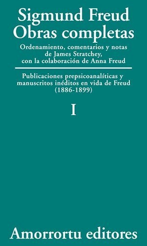 Papel Obras Completas De Sigmund Freud - Vol.01