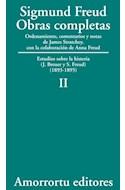 Papel OBRAS COMPLETAS 2 (1893-1895) ESTUDIOS SOBRE LA HISTERIA (J. BREUER Y S. FREUD) (1893-1895)
