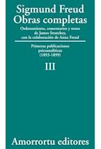 Papel S.FREUD III OBRAS COMPLETAS