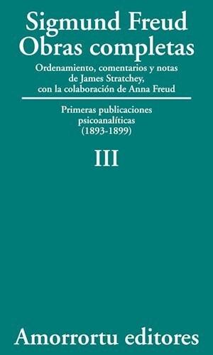 Papel Obras Completas De Sigmund Freud - Vol.03