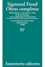 Papel S.FREUD IV OBRAS COMPLETAS TOMO IV