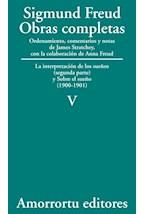 Papel S.FREUD V OBRAS COMPLETAS TOMO V