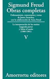 papel V. La interpretación de los sueños (parte II) y Sobre el sueño (1900-1901)