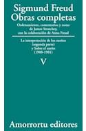 Papel OBRAS COMPLETAS 5 (1900-1901) INTERPRETACION DE LOS SUEÑOS (SEGUNDA PARTE) SOBRE EL SUEÑO(1900-1901)