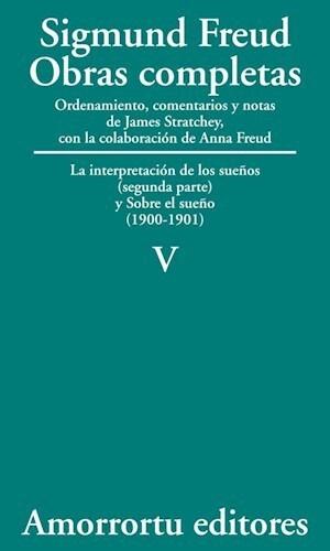 Papel Obras Completas De Sigmund Freud - Vol.05